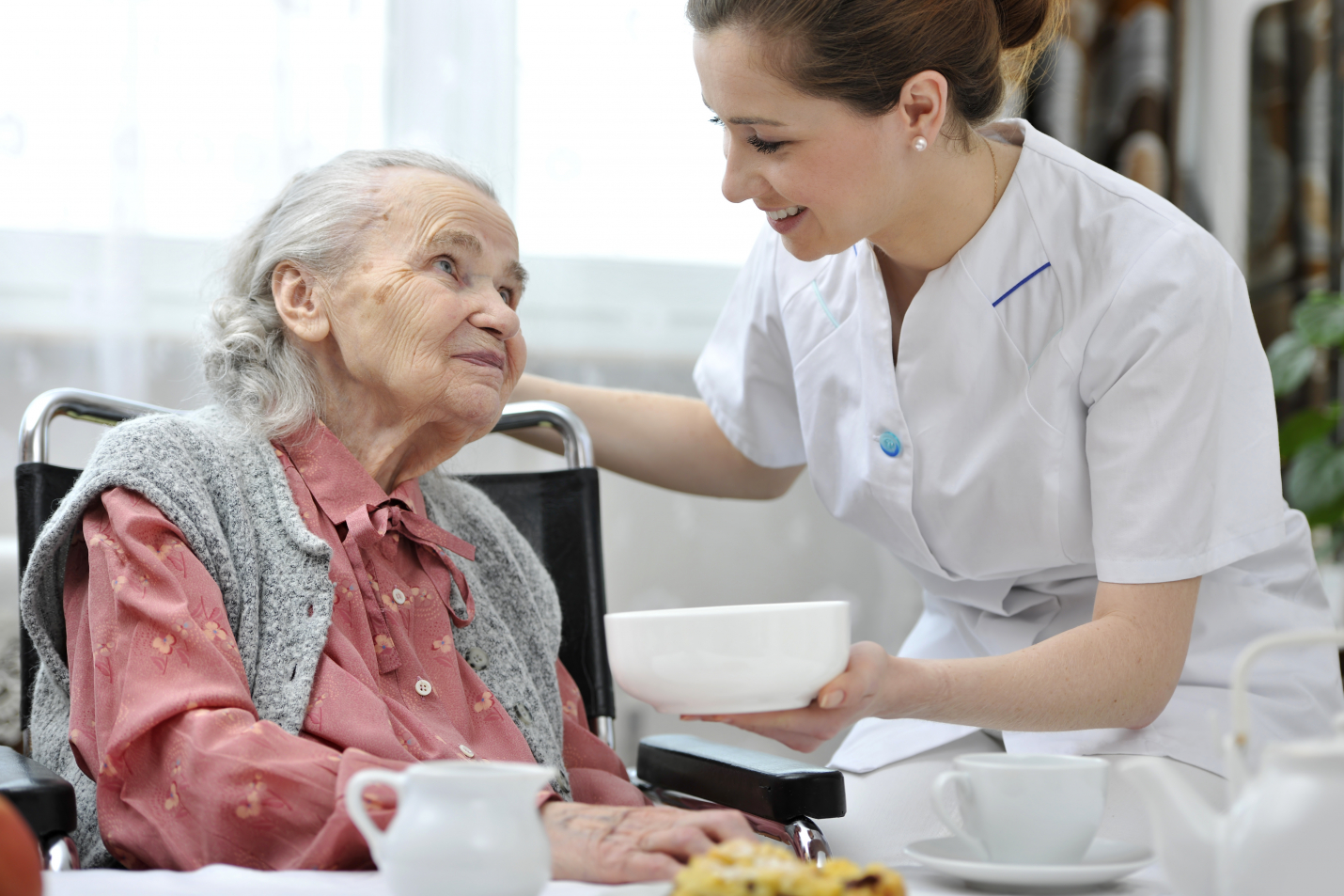 Home carer and patient